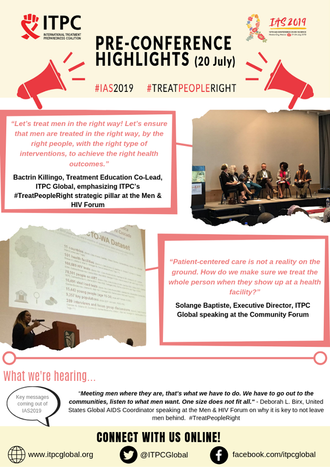 ITPC's IAS 2019 highlights! - Make Medicines Affordable